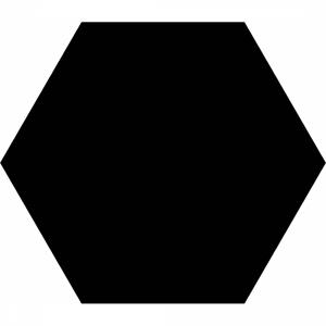 Basic Hex 25 Black Matt R9