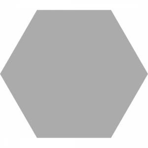 Basic Hex 25 Silver Matt R9
