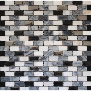 Brick 30.5x30.5 Black Matt