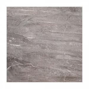 Classic Grey Travertine 33x33 Dark Grey Gloss