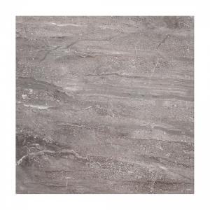 Classic Grey Travertine 33x33 Dark Grey Gloss