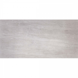Classic Grey Travertine 25x50 Light Grey Gloss
