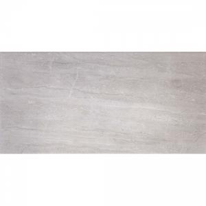 Classic Grey Travertine 25x50 Light Grey Gloss