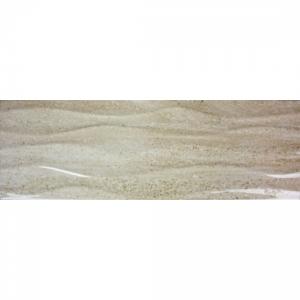Darwin Waves 20x60 Cream Gloss