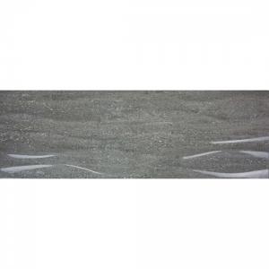 Darwin Waves 20x60 Grahpite Gloss