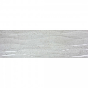 Darwin Waves 20x60 White Gloss