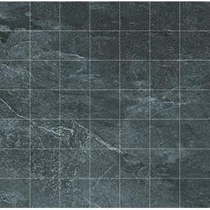 Delta Mosaic 33x33 Anthracite Matt