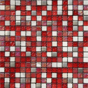 Cristal 31.6x31.6 Red