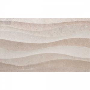 Badem Ondas 33.3x55 Tortora Gloss