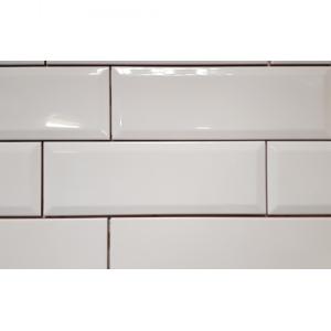 Biselado 10x30 White Gloss