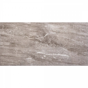 Classic Grey Travertine 25x50 Dark Grey Gloss