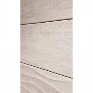 Darwin Waves 20x60 Grey Gloss