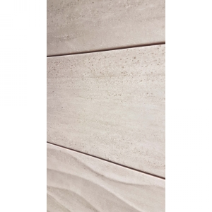 Darwin Waves 20x60 Cream Gloss