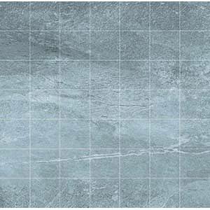 Delta Mosaic 33x33 Dark Grey Matt