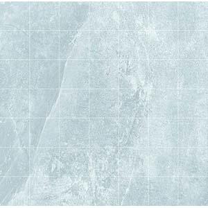 Delta Mosaic 33x33 Light Grey Matt