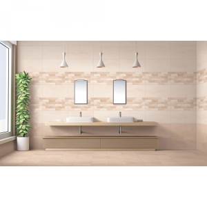 District 30x60 Light Beige Gloss