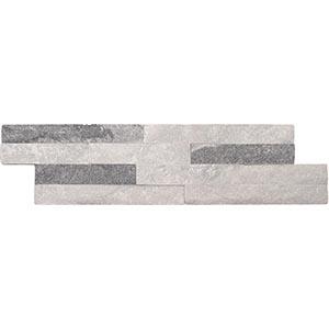 Dolomite Split Face 10x36 Cloud Grey Matt