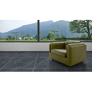 Emperador 80x80 Black Polished 2