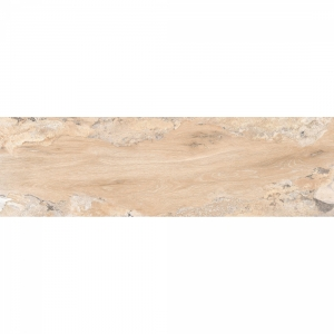 Glossy Wood 20x120 Crema Polished