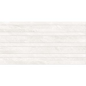 Momento Stripe Decor 30x60 White Gloss