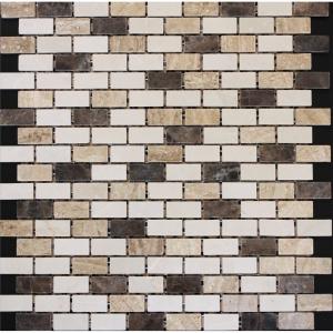 Emperador Brick 30.5x30.5 Beige