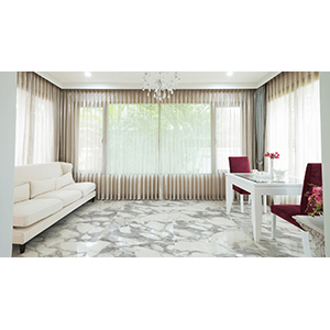 Oro Calcutta 80x80 White Polished