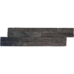 Quartz Split Face 10x36 Black Matt