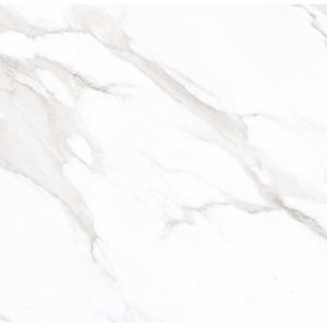 Statuario Mercury 80x80 White Polished