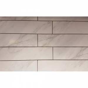 Yule Marble 10x40 White Gloss