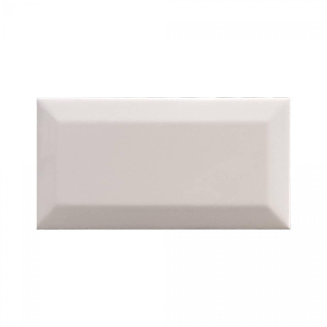 Biselado 7.5x15 White Matt 1