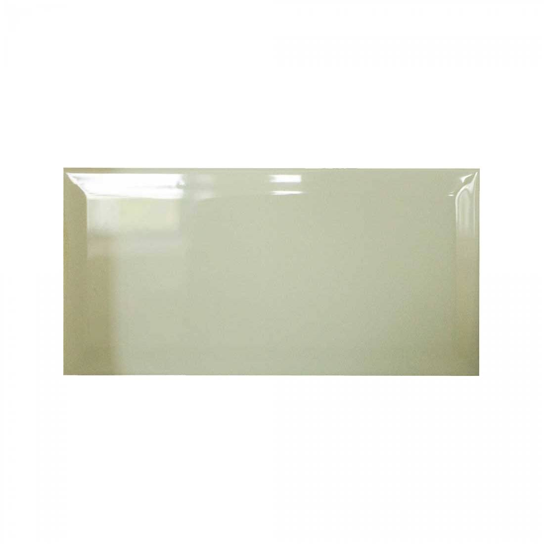 Biselado 10x20 Cream Gloss 1