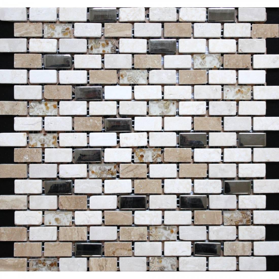 Brick 30.5x30.5 Beige Matt 1