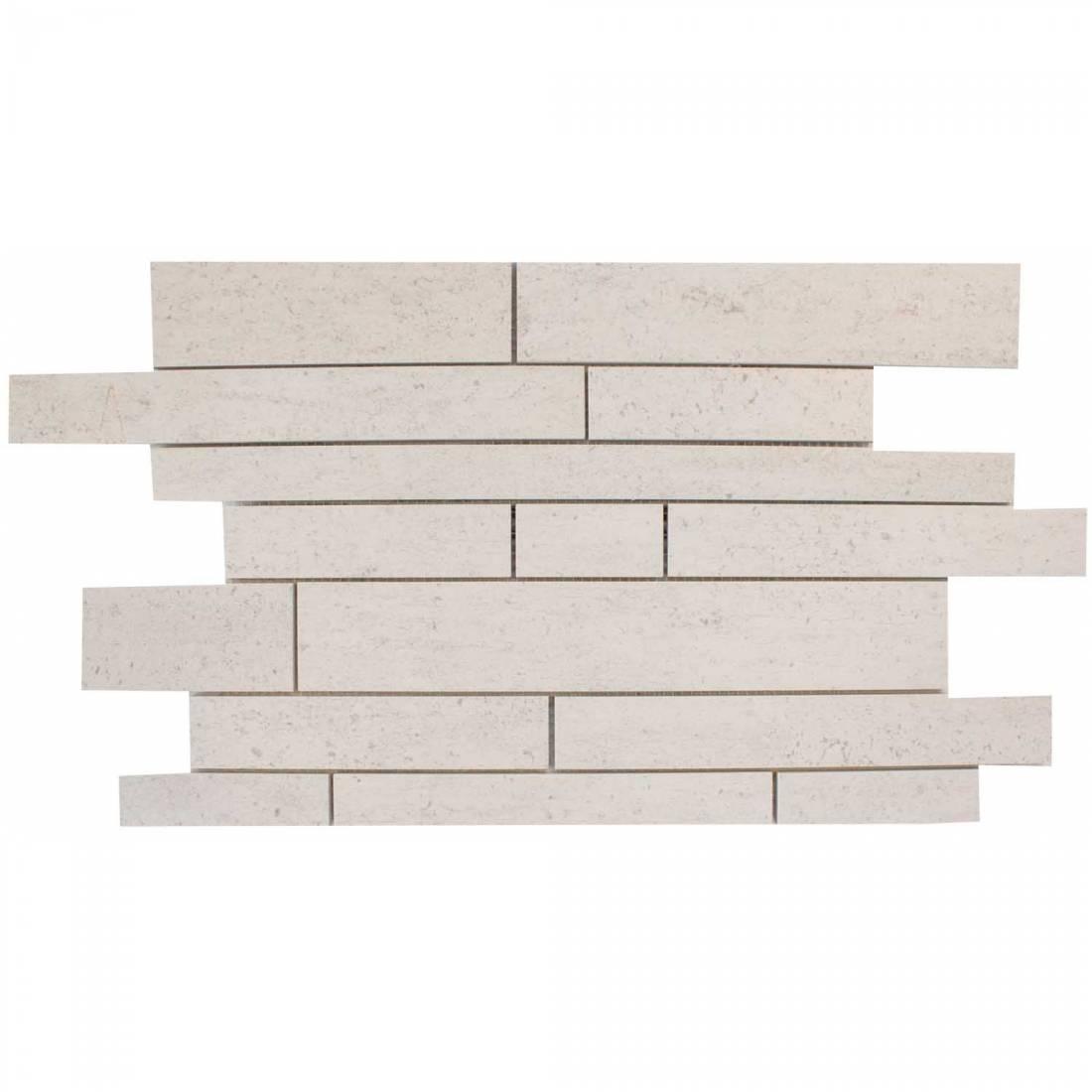 Cement No7 Mosaic 31x48 Ivory Matt 1