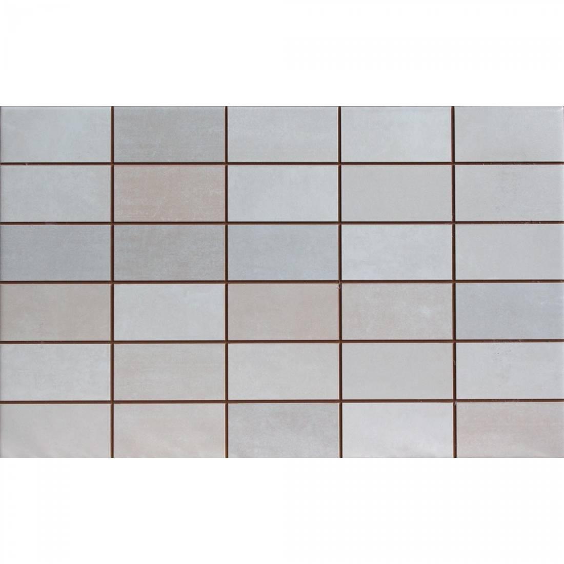 Cemento Decor 25x40 Grey Matt 1