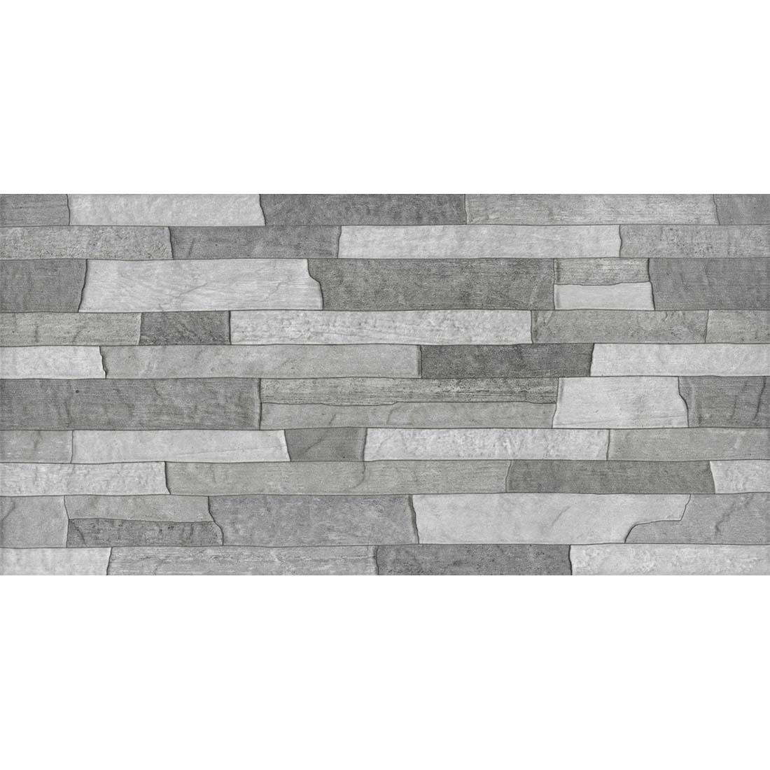 Cemento Rustico Mix Decor 30x60 Grey Matt 1