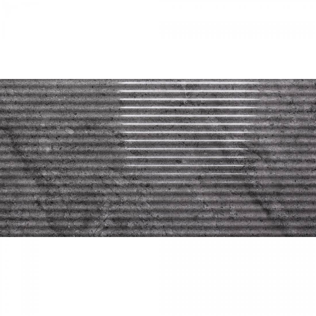 Cotswold Relief Decor 30x60 Dark Grey 1