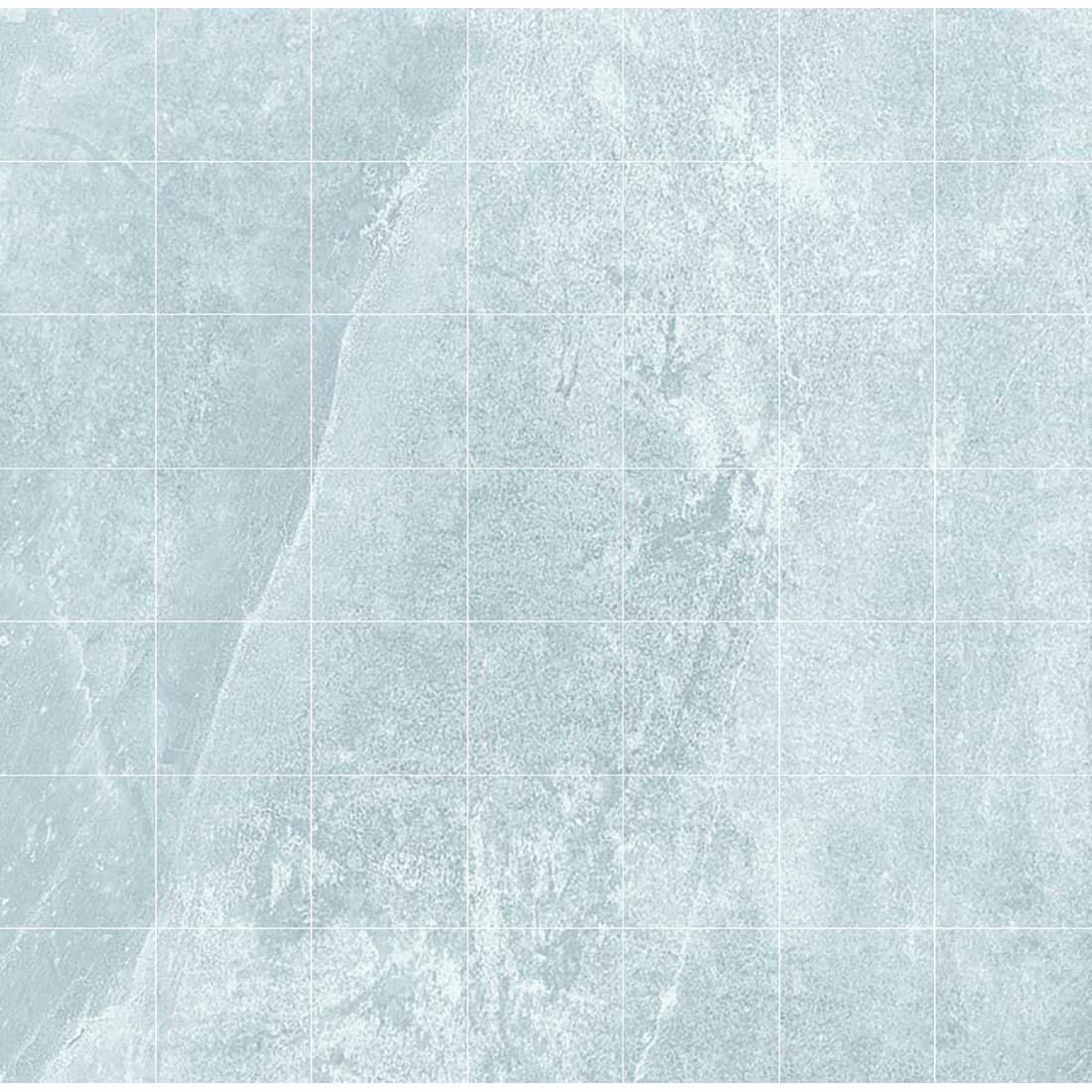 Delta Mosaic 33x33 Light Grey Matt 1