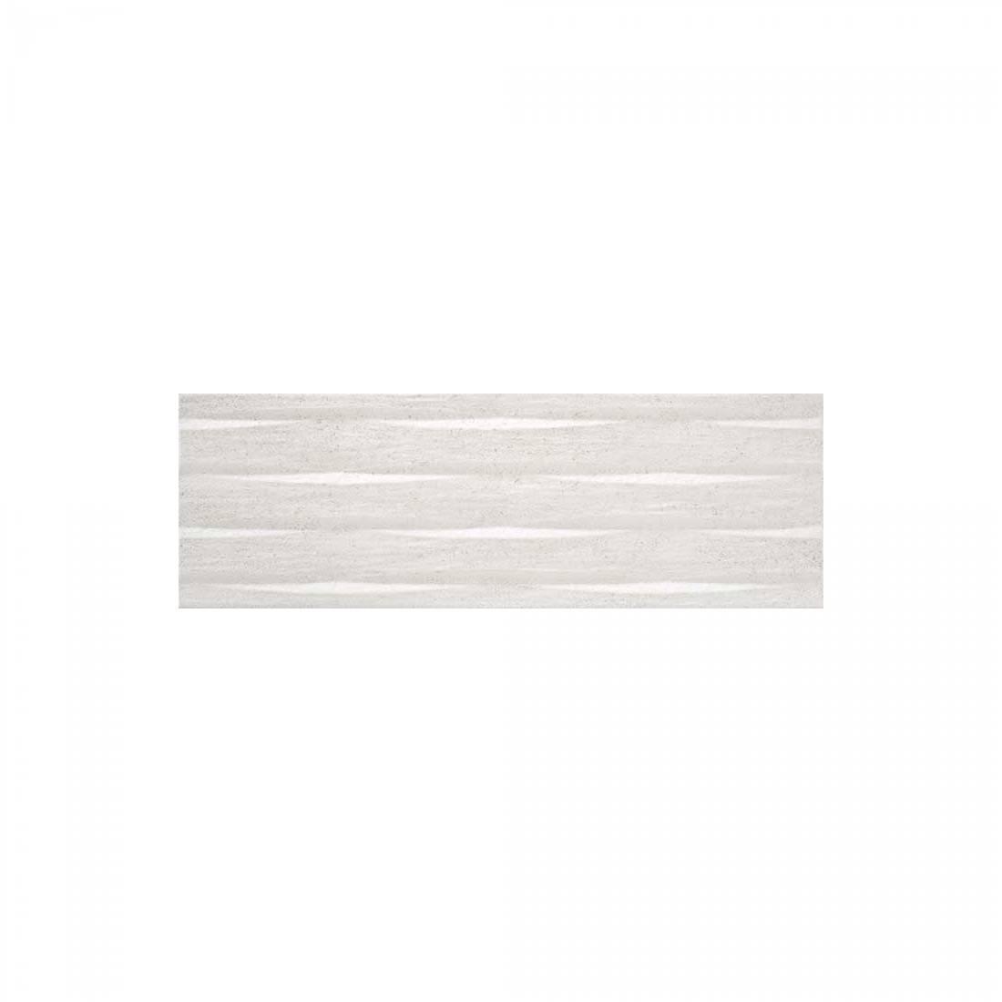 Dorset Decor Relieve 20x60 White Matt 1