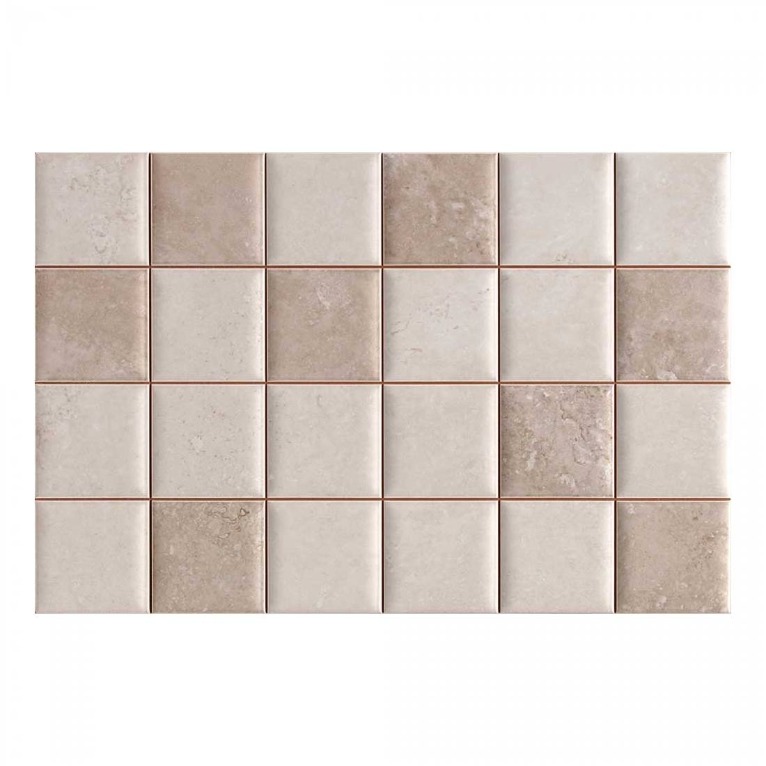 Fez Block 31.6x48 Taupe 1