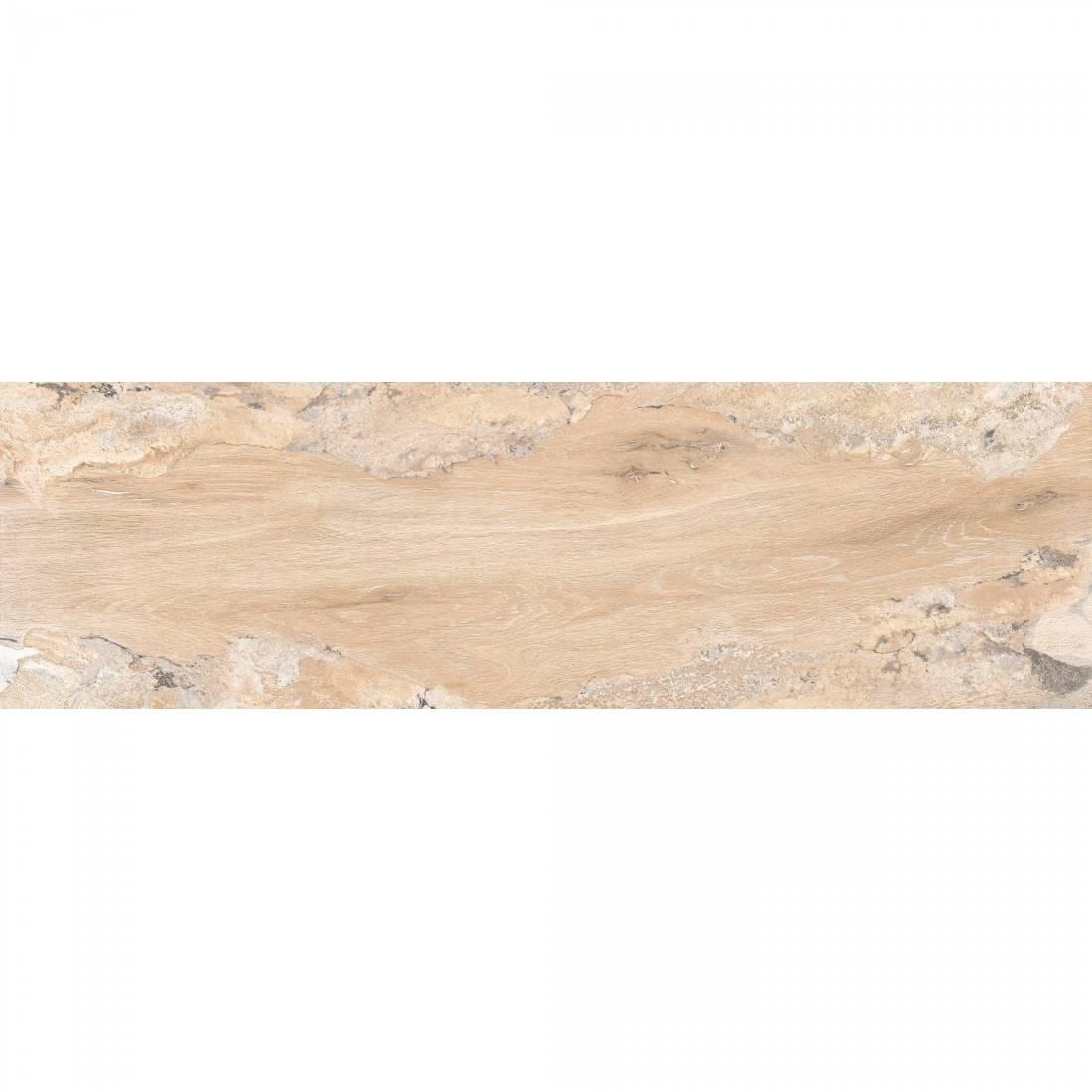 Glossy Wood 20x120 Crema Polished 1