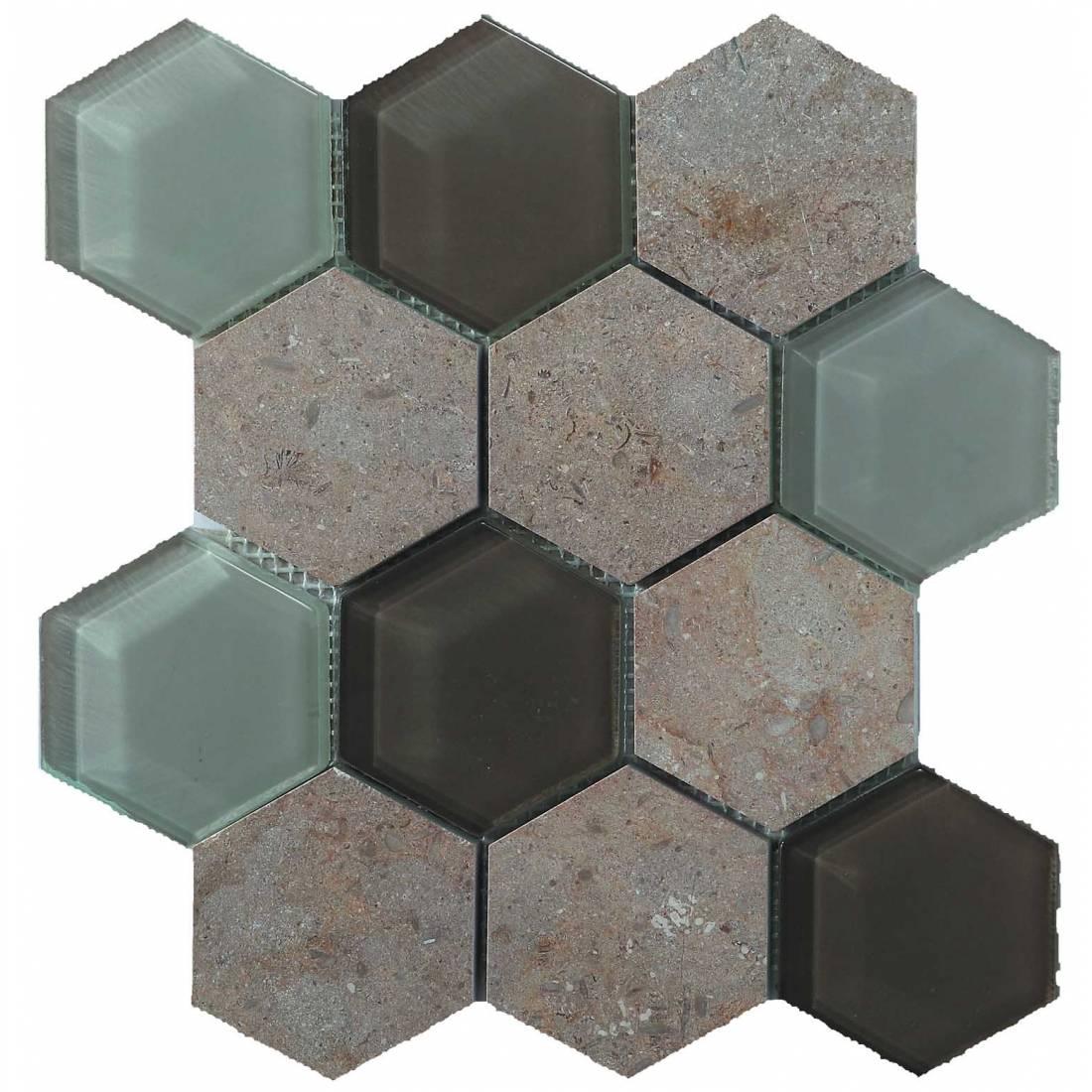 Hex Mosaic 23.1x26.7 Beige Matt 1