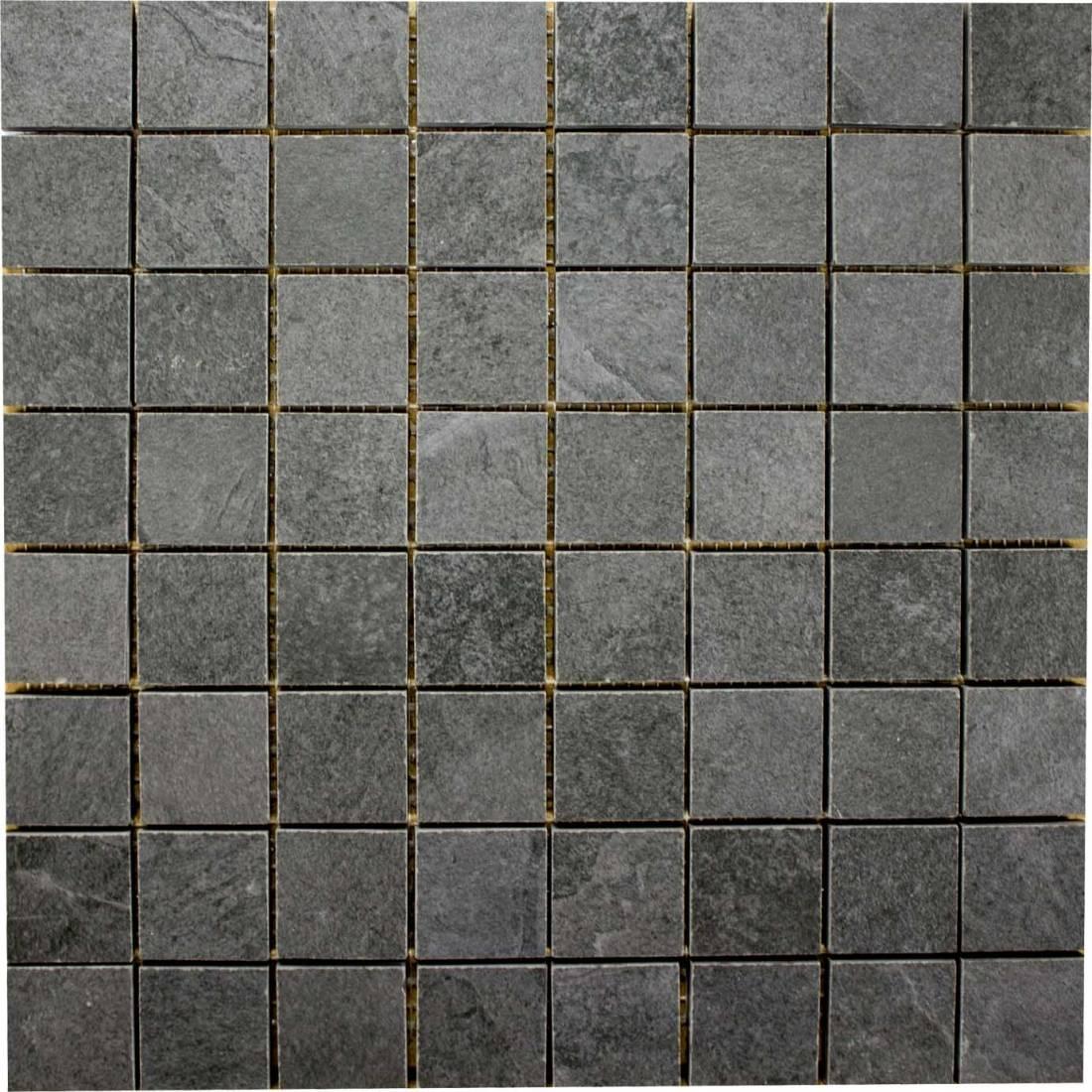 Lajedo Square 30x30 Black Matt R11 1
