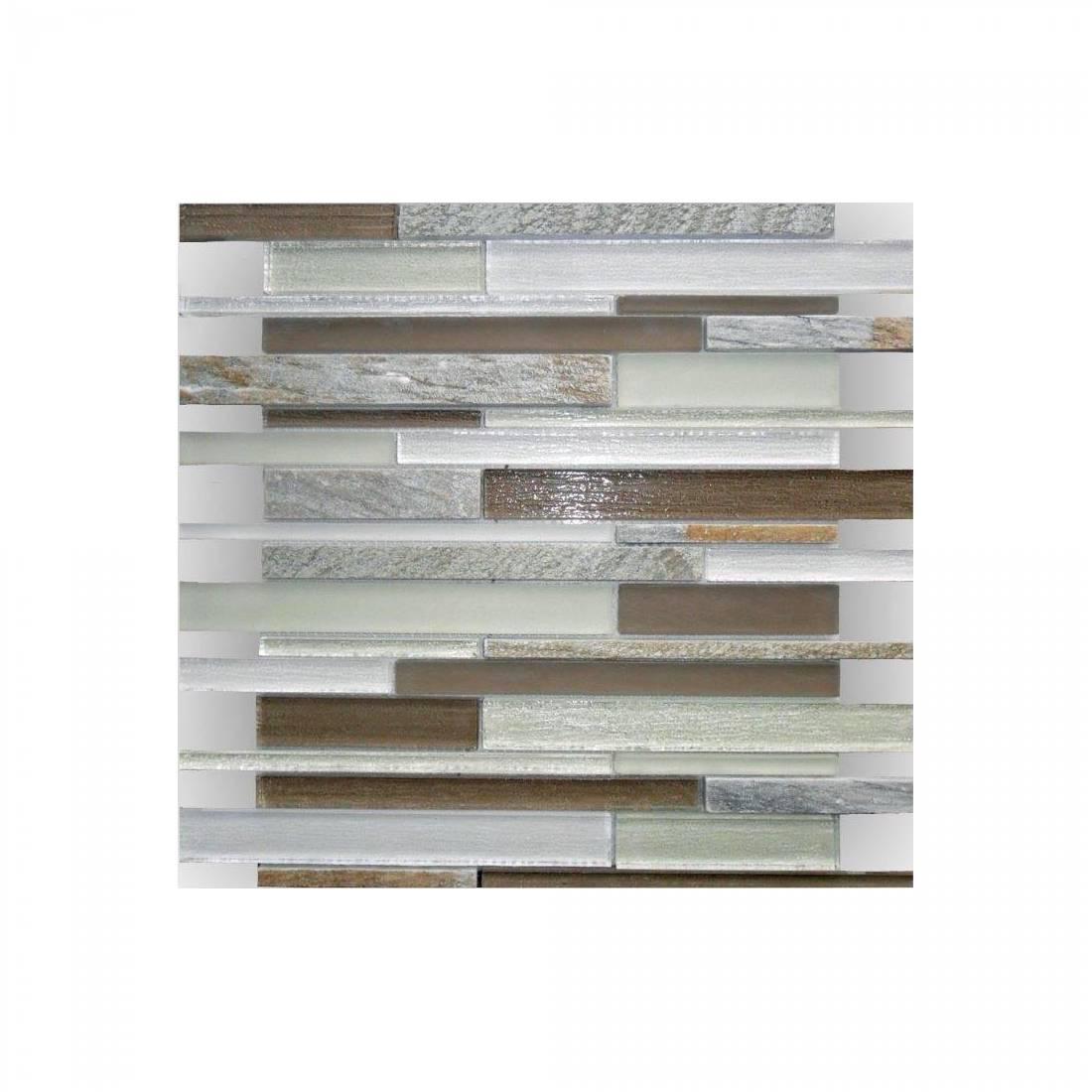 Mercury Glass 30.2x30.2 Beige 1