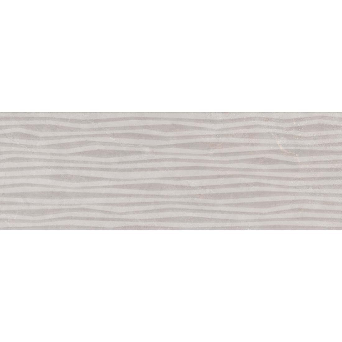 Mist Stripe Decor 20x60 Grey 1