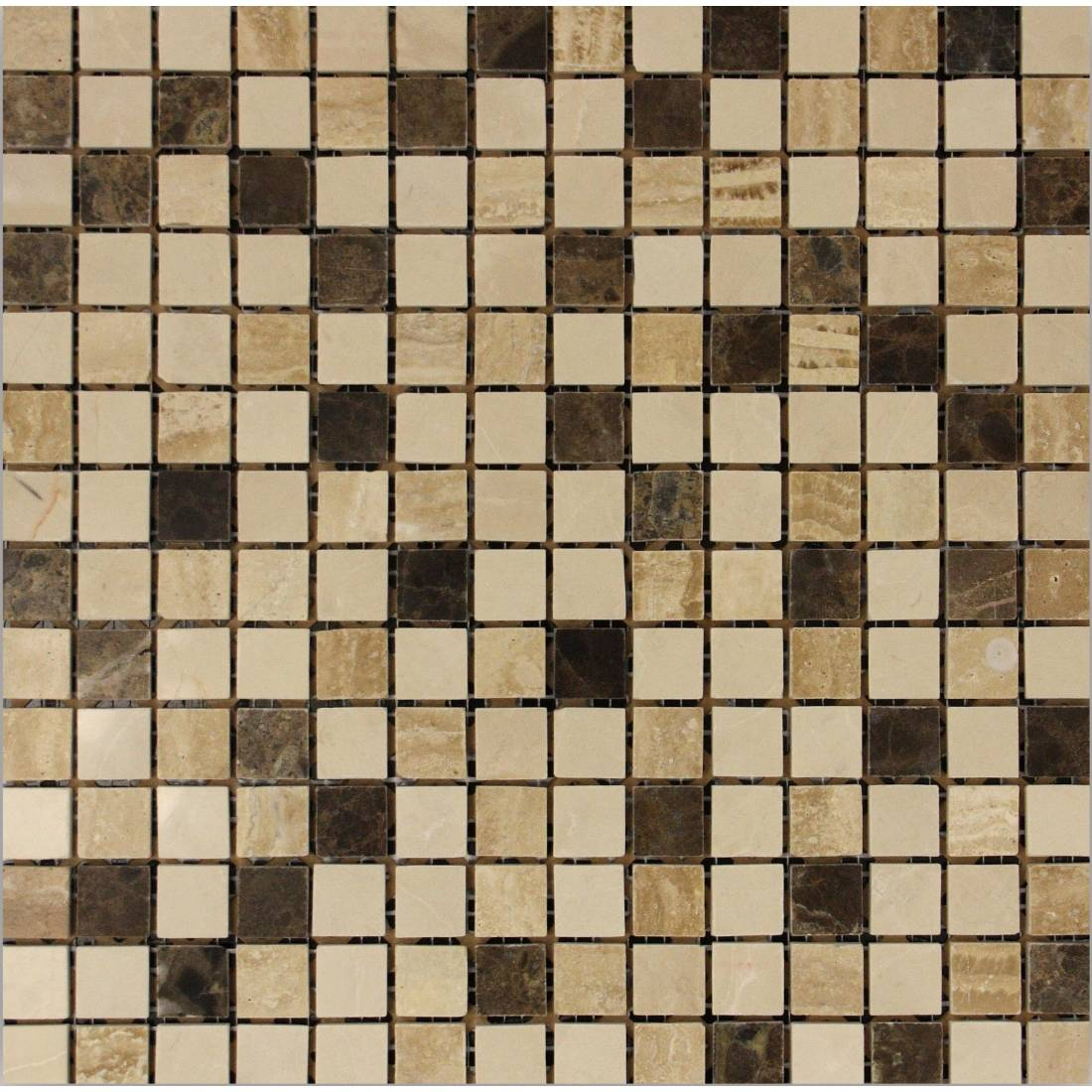 Emperador Square 30.5x30.5 Beige 1