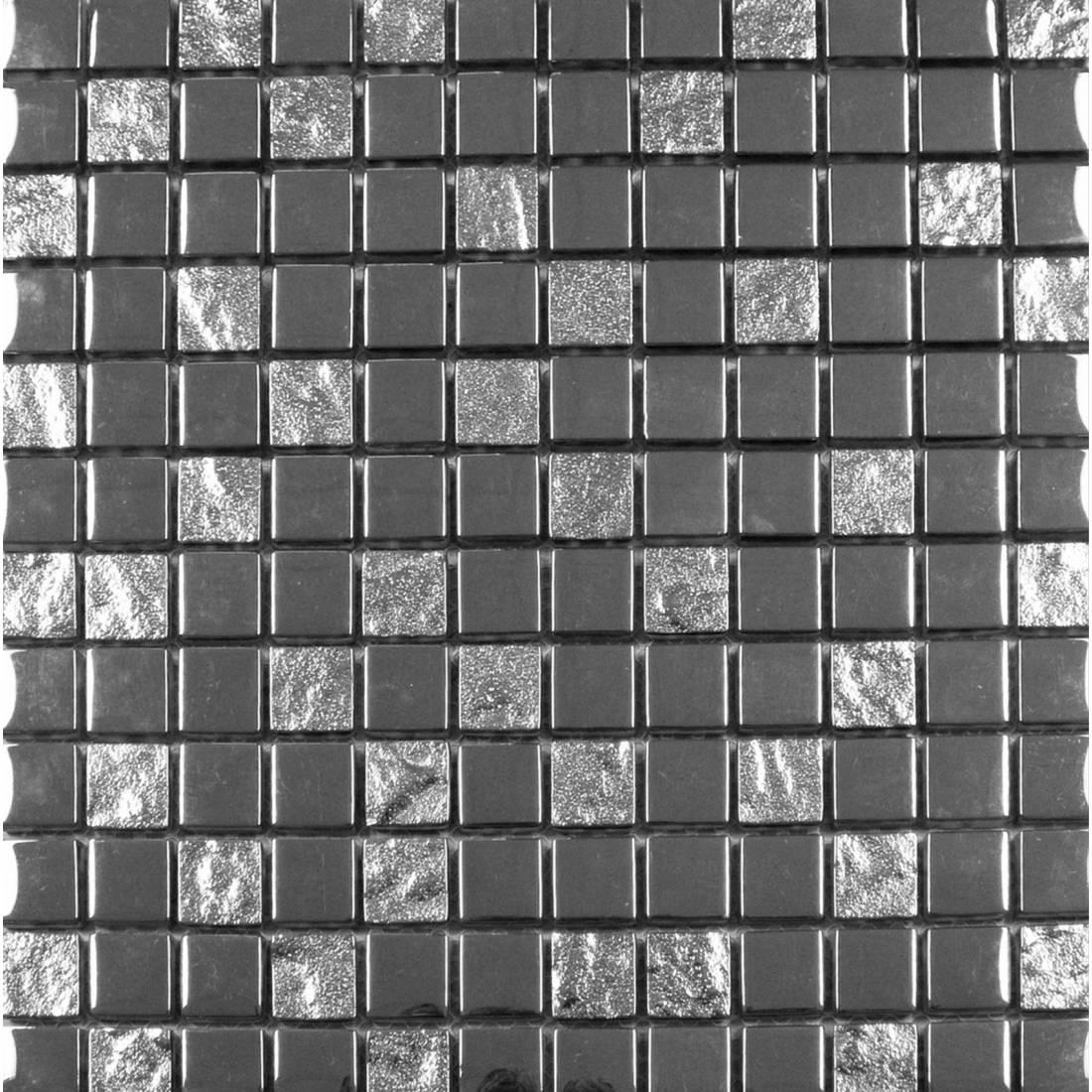 Luxury Silver 30x30 Silver 1