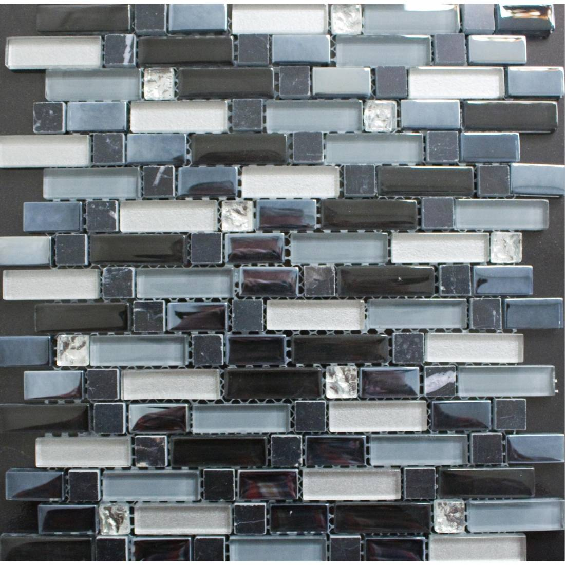 Multi Glass 30x30 Black 1