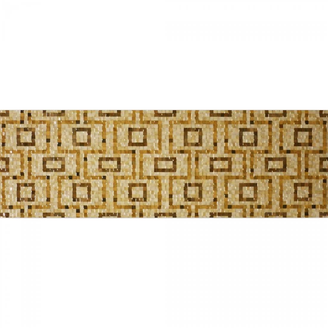 Mosaico Aran Juez Beige Inserto 20x60 Beige Gloss 1