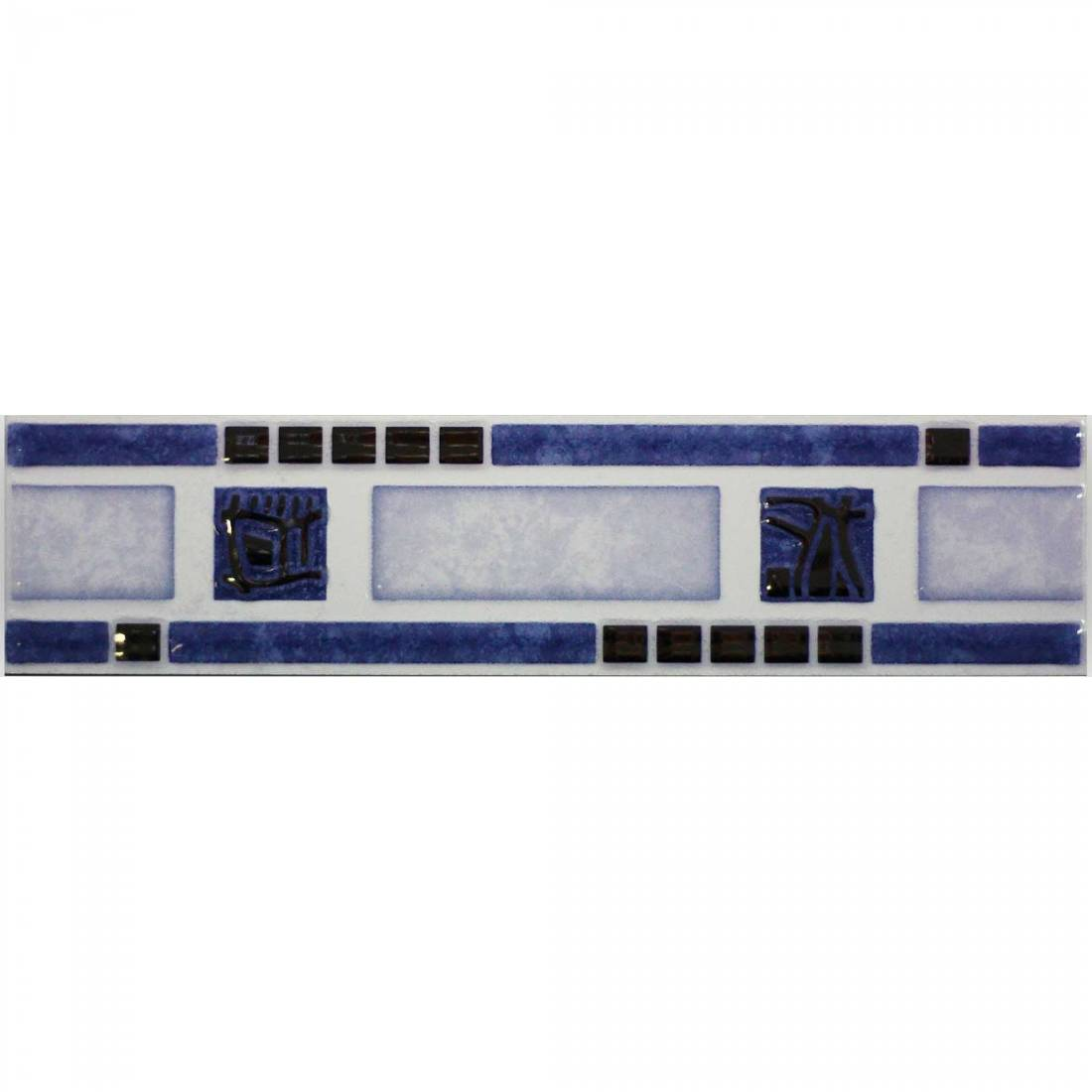 Olympic Cenefa 6x25 Blue 1