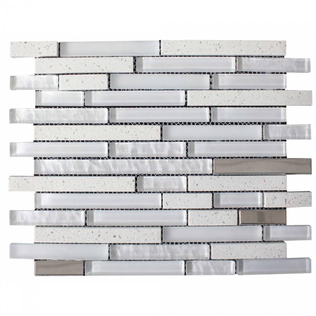 Quartz 30x30 White 1